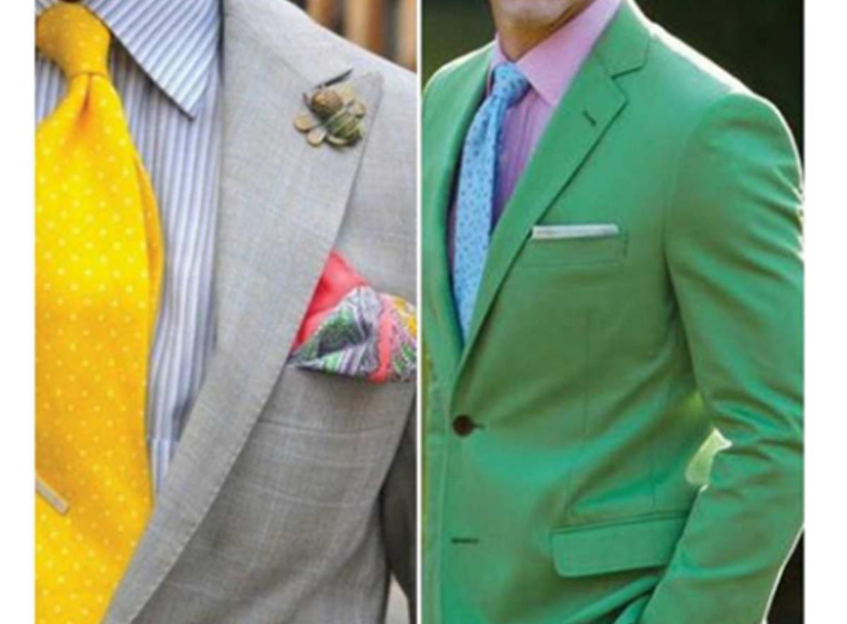 آموزش گام به گام انتخاب رنگ لباس مردانه