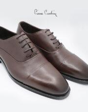 کفش چرم برت قهوه ای